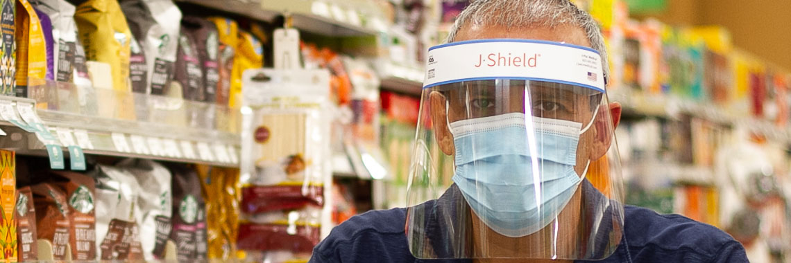 J-Shield X Face Shield