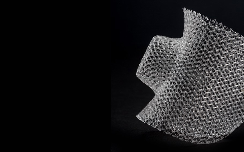 Heat formed biomedical textile implant