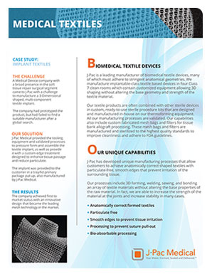 Biomedical Textile Devices